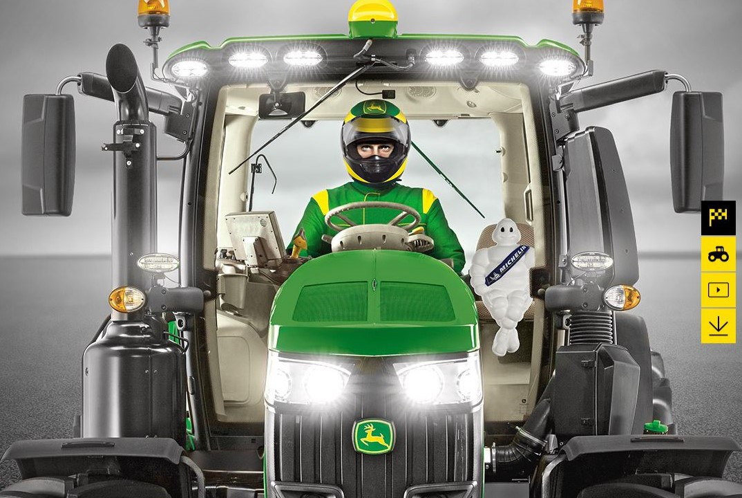 Could you win the tractor driving championship?
