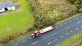 Video: Cavan man confirms his place in history with tractor reversing world record