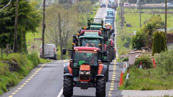 Busy tractor runs all set to roll on Easter Monday