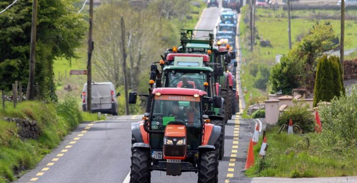 Charity tractor run to motor through the midlands this May bank holiday
