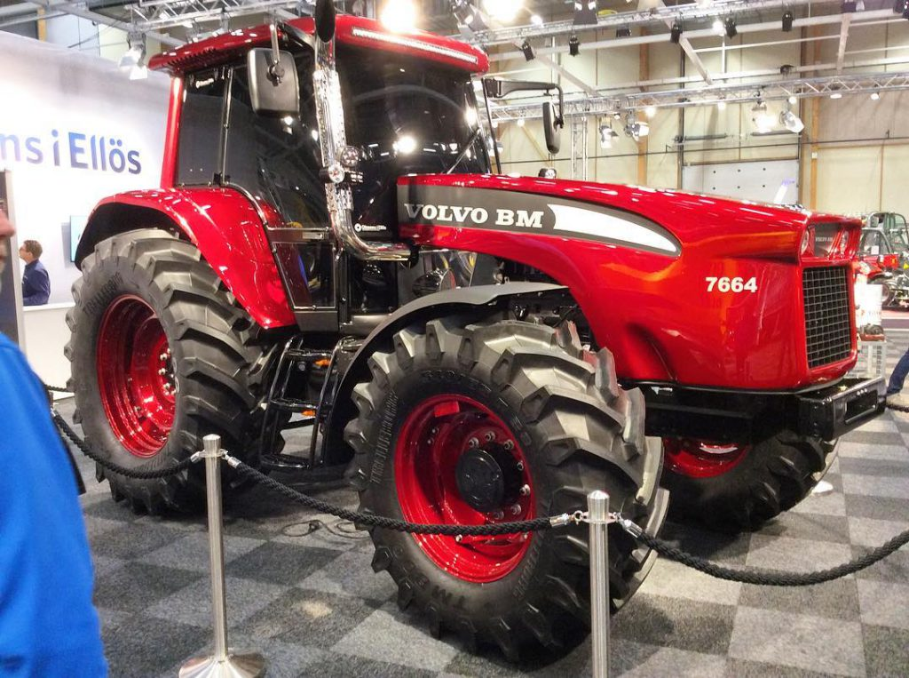 One Of A Kind The Modern Volvo Bm Tractor Agriland