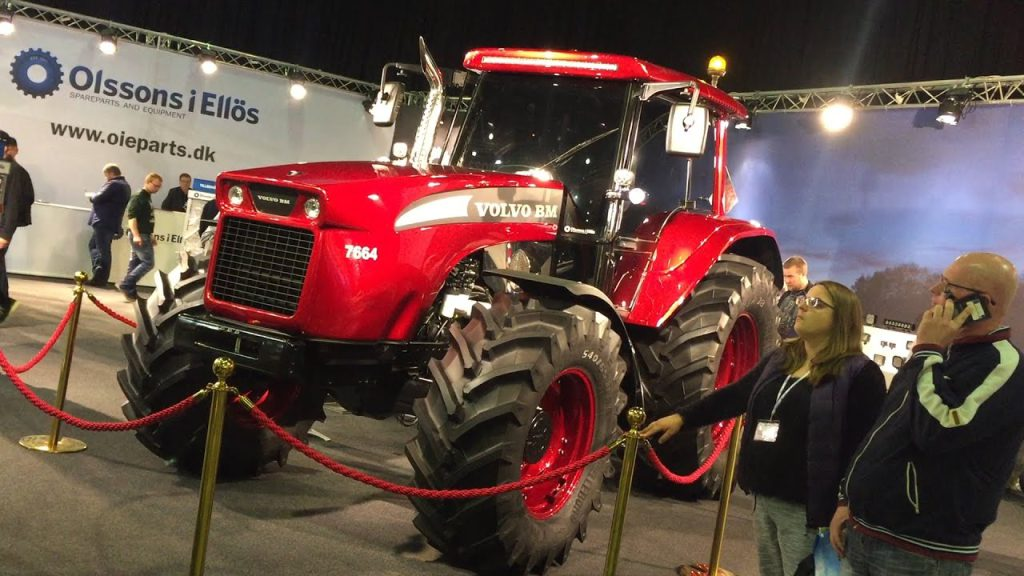 b583ce895053 One of a kind  The  modern  Volvo BM tractor - Agriland.ie
