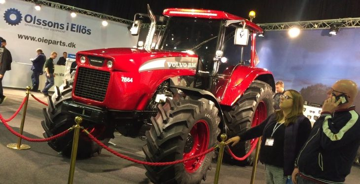One of a kind: The 'modern' Volvo BM tractor