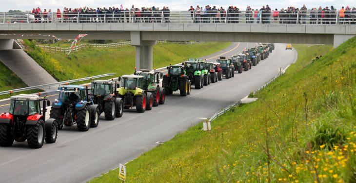 Pics: Record-breaking Connacht Tractor Run a 'great success'
