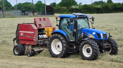 How to minimise the risk of fires when baling