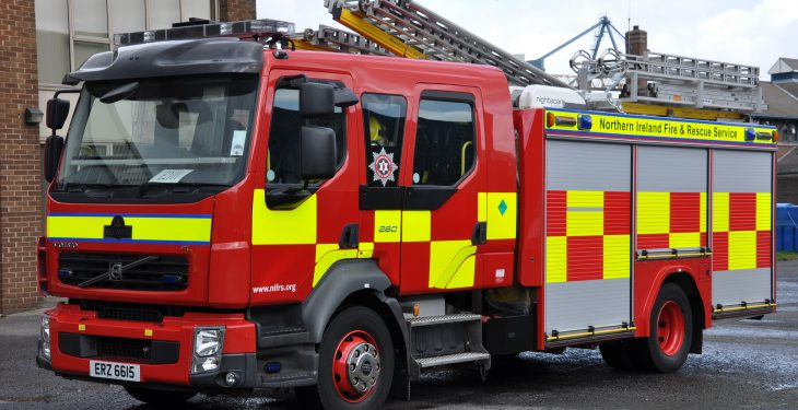 48 firefighters tackle gorse fire 1km wide in Antrim