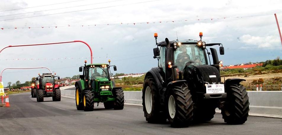 Connacht tractor run