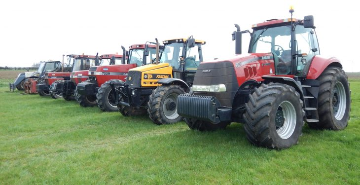 Pics: Tractors command 'strong' prices at UK dispersal sale