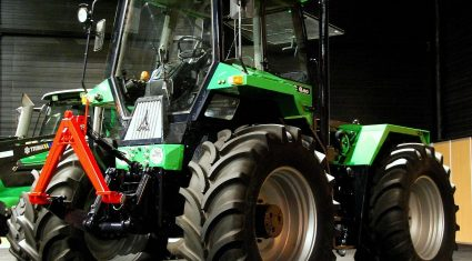 New and old on show at Deutz-Fahr's ultra-modern factory