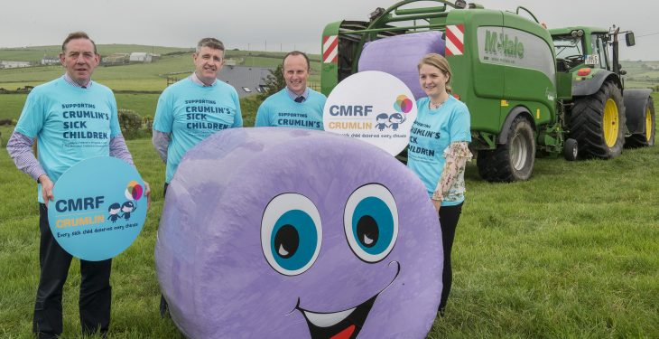 Over €13,000 raised in 'Go Purple' for Crumlin campaign