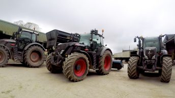 Video: 'Black beauty' Fendt fleet is a familiar sight in the north-west