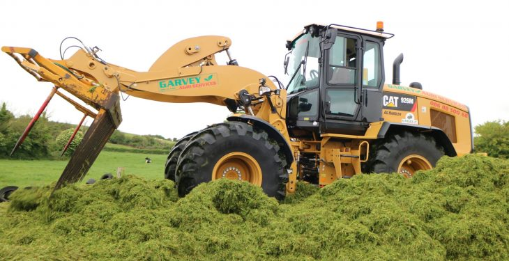 Video: Watch this new CAT tackle the silage scene in Clare
