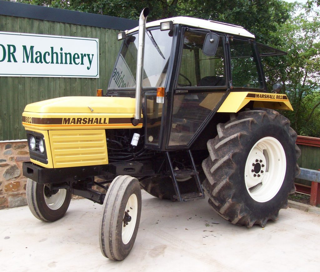 Tractor numbers