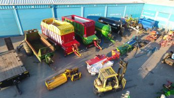 Pics: Auction of one agri-contractor's fleet makes €700,000