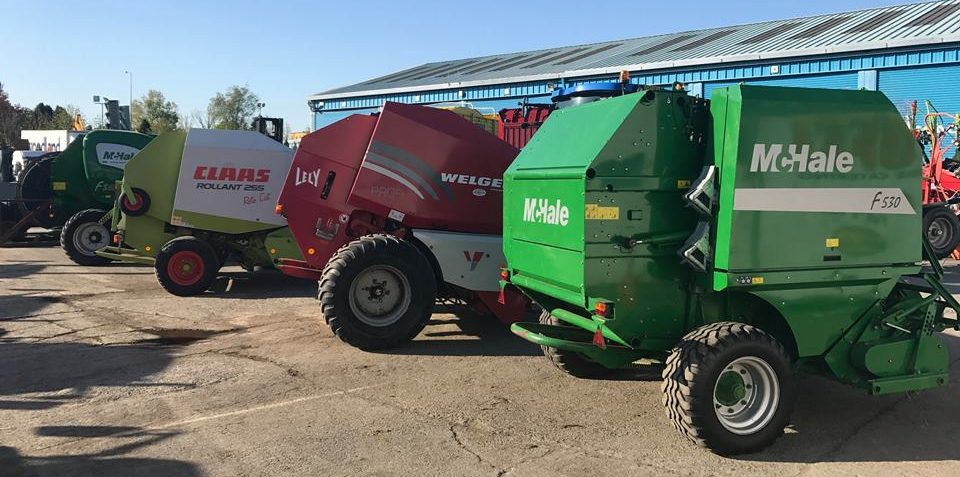 Balers, silage