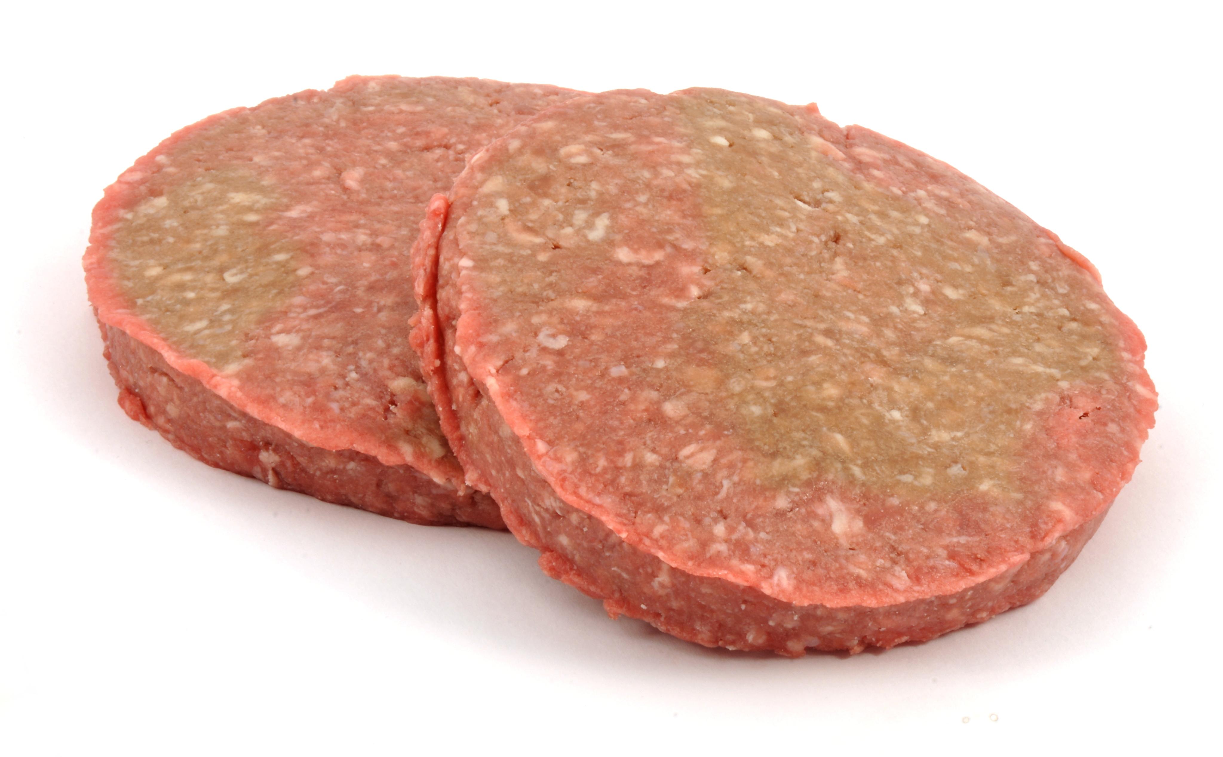 Dog Eat Raw Hamburger Meat