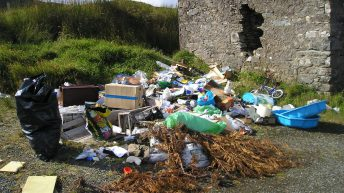 Dumping: 'Green fields will disappear under mountains of discarded rubbish'