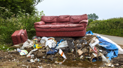 Illegal dumping 'wasting' farmer's time and money