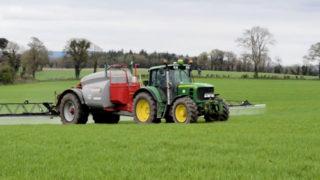Pig slurry drives spring barley establishment on Kevin Nolan's farm