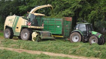 Farmers shifting silage warned not to create traffic chaos
