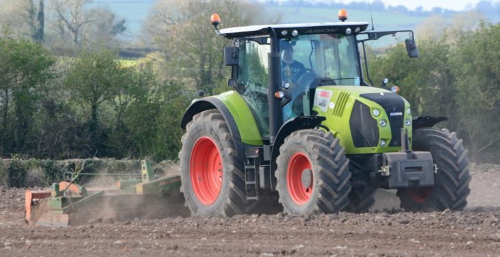 That's one 'Claas' app – check out this ISOBUS upgrade