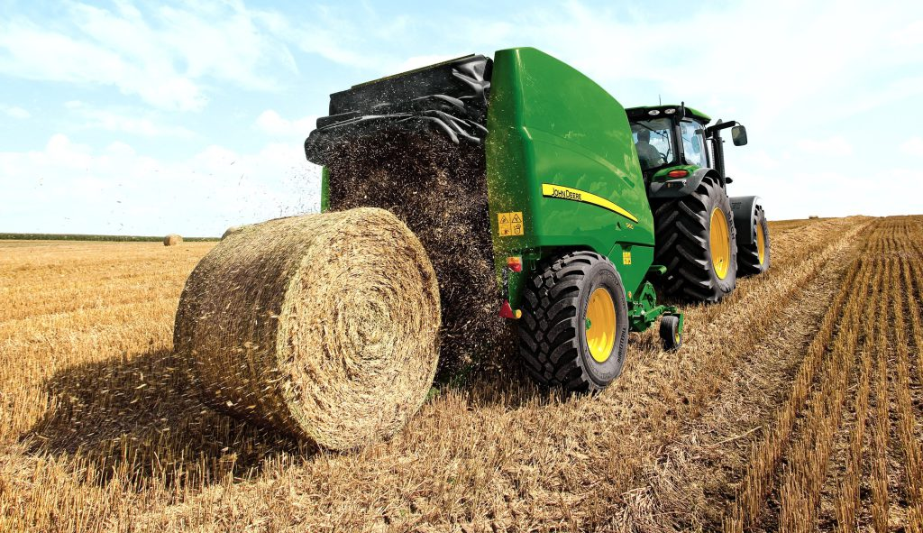 How many round bales can you make in an hour? - Agriland ie
