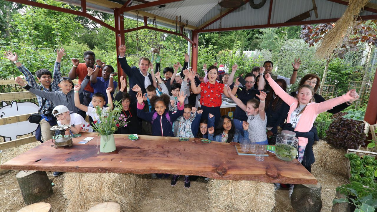 'Blooming' great win for Agri Aware's garden