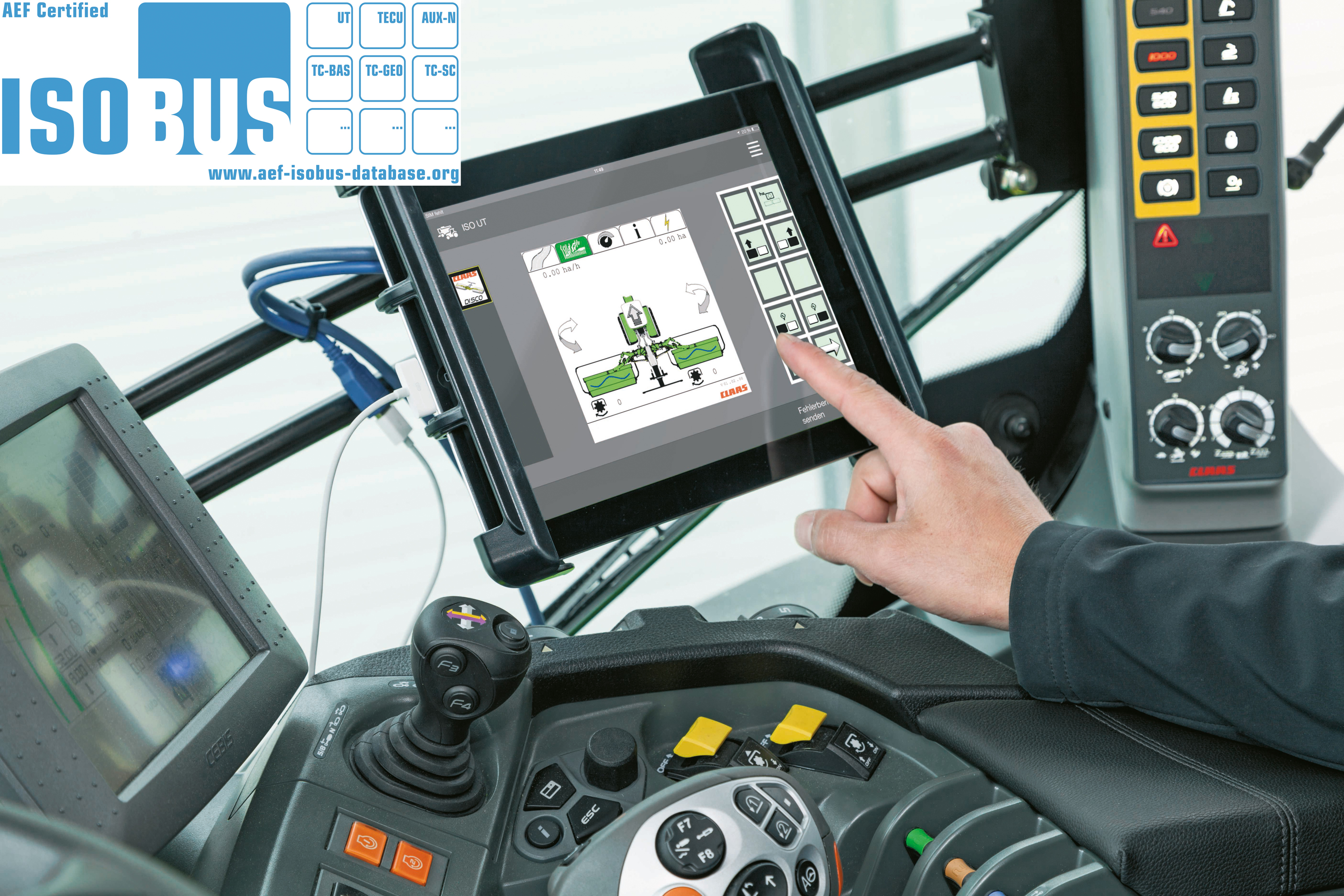 That's one 'Claas' app - check out this ISOBUS upgrade - Agriland ie