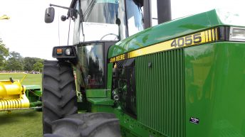 Journey from peat to silage: Classic John Deere gets new lease of life