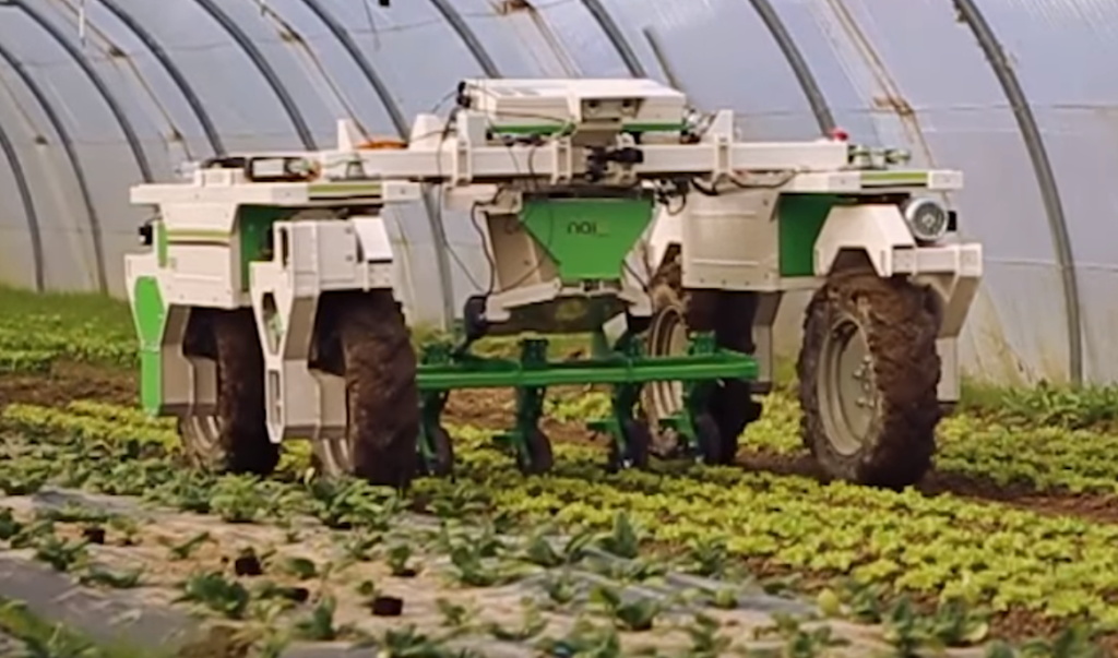 Video Have Your Weeding Done By Robot Dino Agriland Ie
