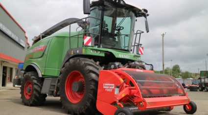Pics: 'Up close and personal' with Ireland's first Fendt forager