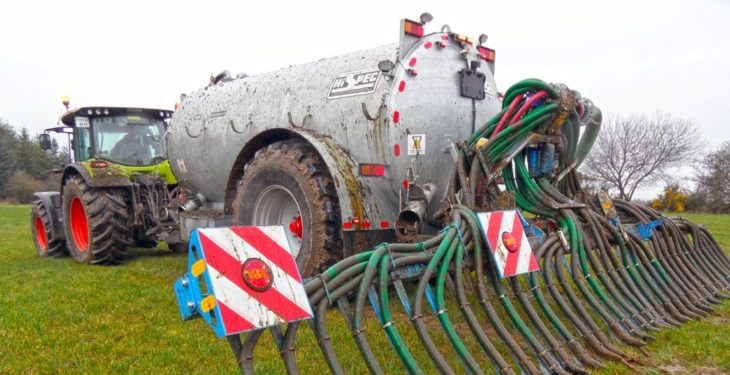 Costs on farmers for low-emission slurry equipment: 'Action required'
