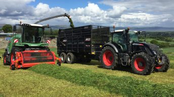 How is this Fendt forager faring in Northern Ireland?