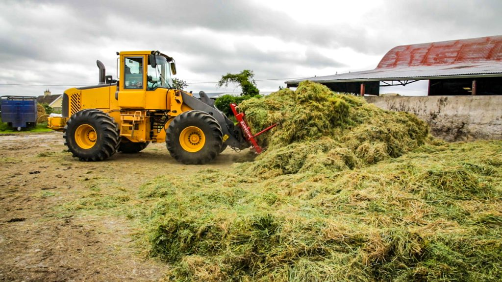 Kiely Malone silage contractor