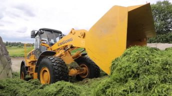 East meets west: Room for a Chinese loader on the silage pit?