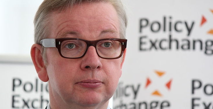 Controversial Gove gets top agri job in UK cabinet change