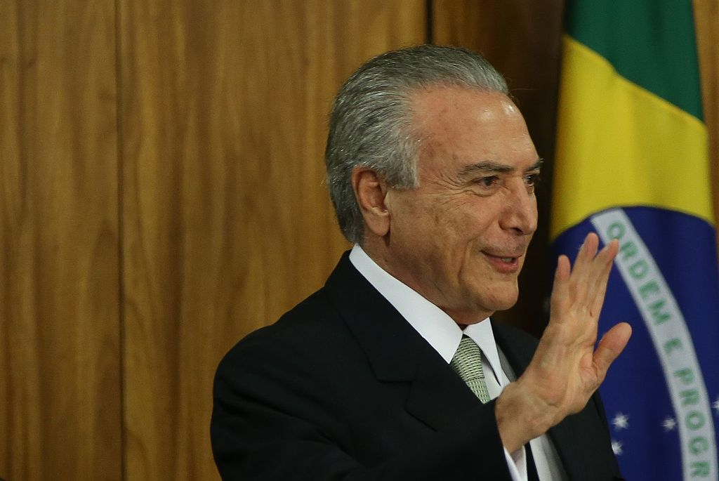 Brazilian president charged with taking multi-million dollar bribes