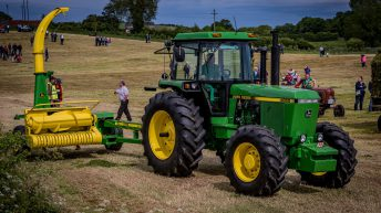 Pics: Silage fever grips Monaghan as vintage and classic machines get busy