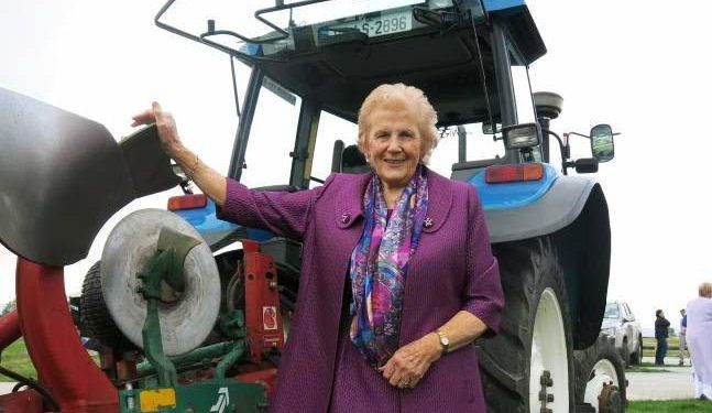 Anna May 'ploughs' ahead with long-awaited book