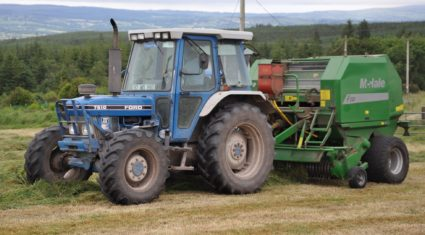 Grass surpluses mean 'lots of bales'