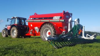 Grants worth almost €3 million issued for low-emission slurry spreading equipment