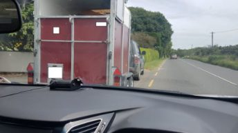 Jeep driver to end up in court after towing trailer with incorrect licence