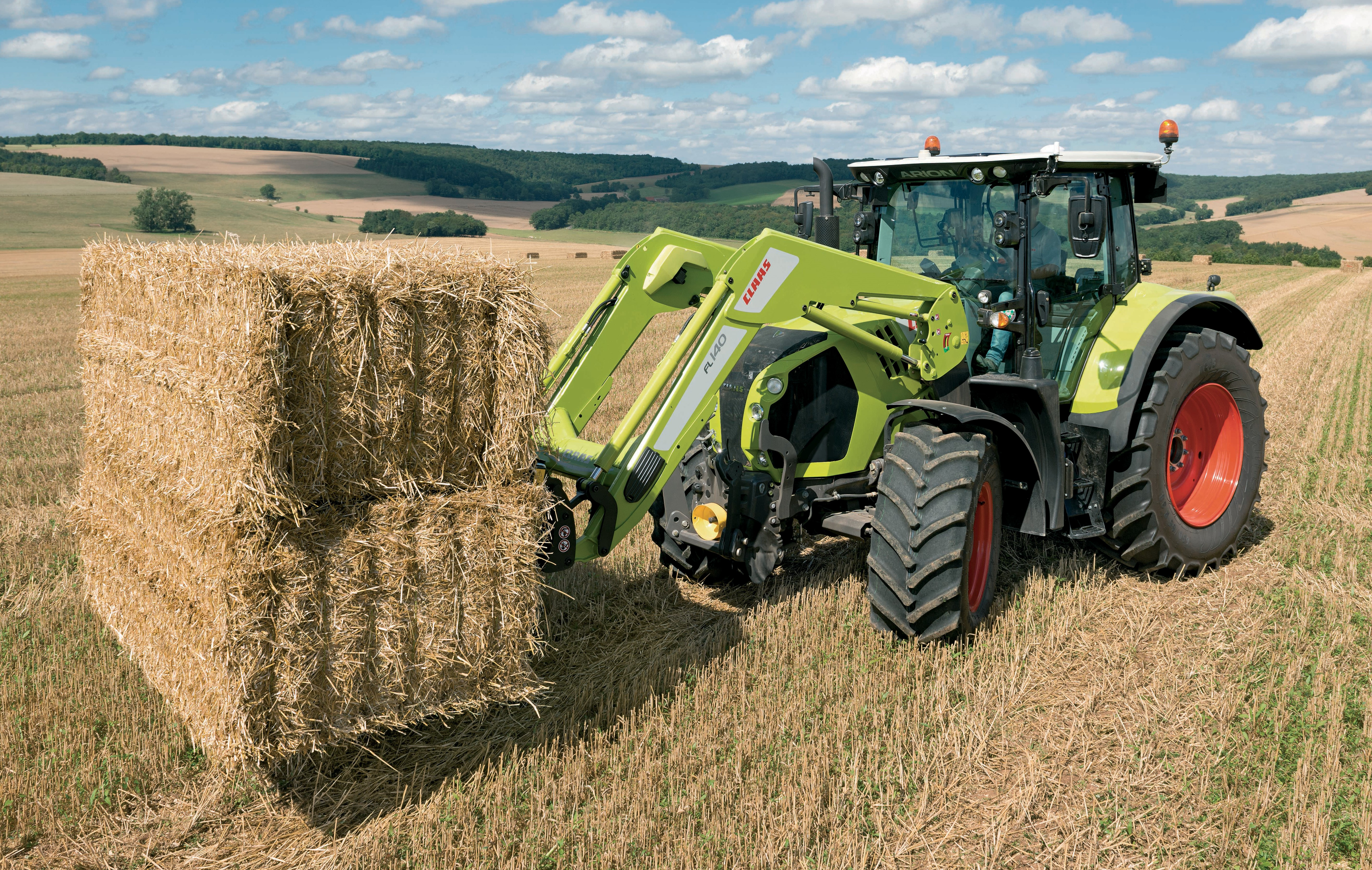 Pics Claas Updates Its Arion 600 And 500 Series Tractors