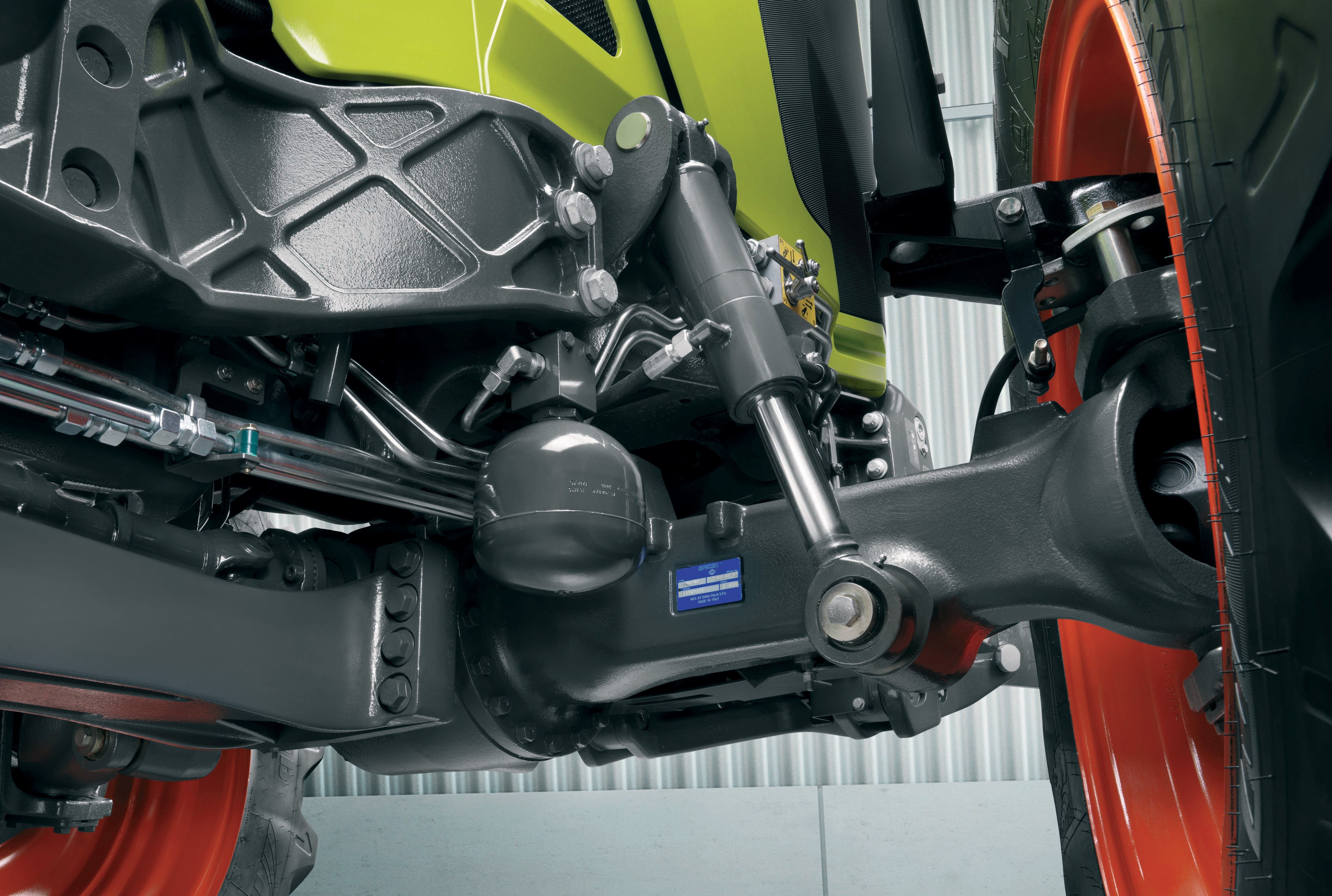 Tractor Front Suspension : Pics claas updates its arion and series tractors