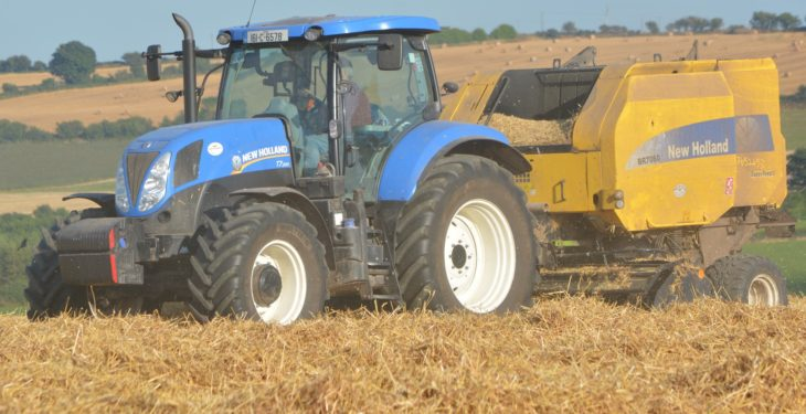 How much does baling straw cost this year?