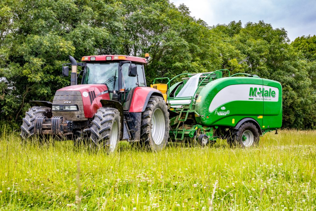 Wexford contractor contracting silage