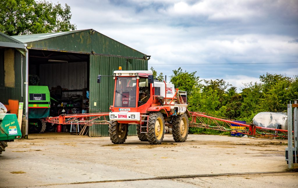 Wexford contractor contracting silage crean