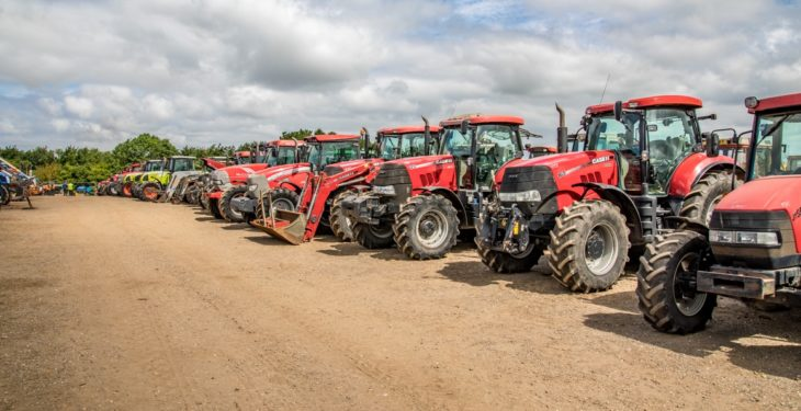 Auction report: Tractors galore at this month's busy Cambridge sale