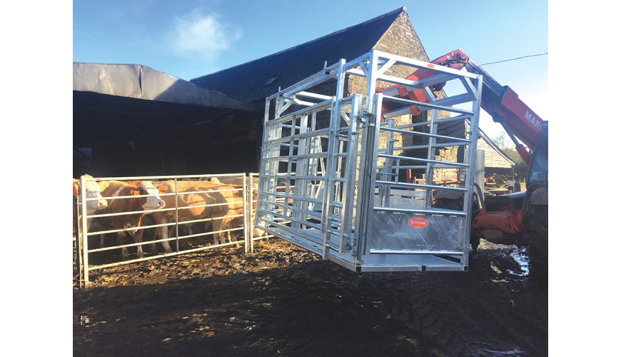 Pics: Could this portable frame make suckler calving a lot