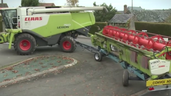 Video: Header trailer 'cuts no corners' in transportation